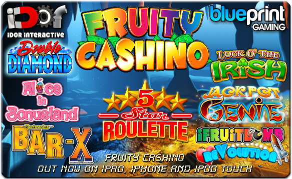 Fruity Cashino for iPad, iPhone and iPod touch