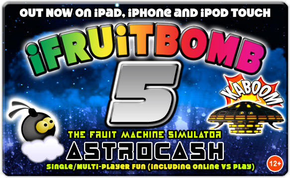 iFruitBomb 5 for iPad, iPhone and iPod touch